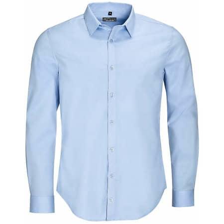 Men`s Long Sleeve Stretch Shirt Blake von SOL´S (Artnum: L01426