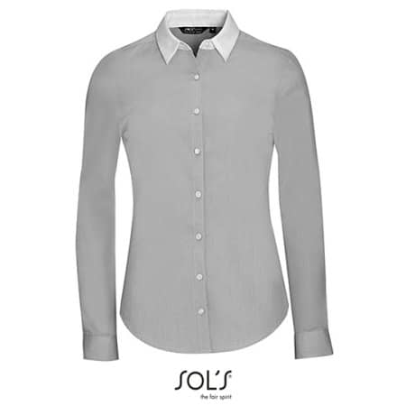 Women`s Long Sleeve End-To-End Shirt Bel von SOL´S (Artnum: L01431