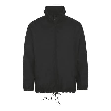Shift Windbreaker in Black von SOL´S (Artnum: L01618