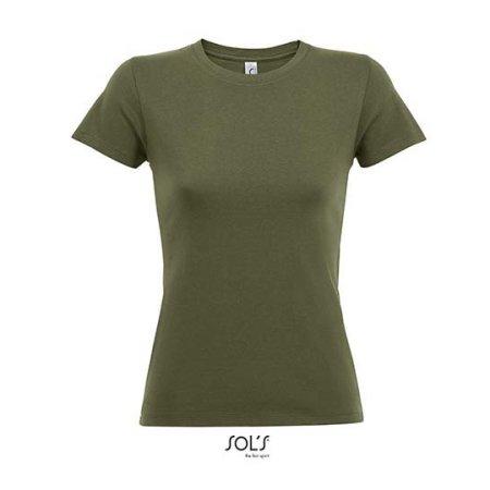 Regent Women T-Shirt in Army von SOL´S (Artnum: L01825