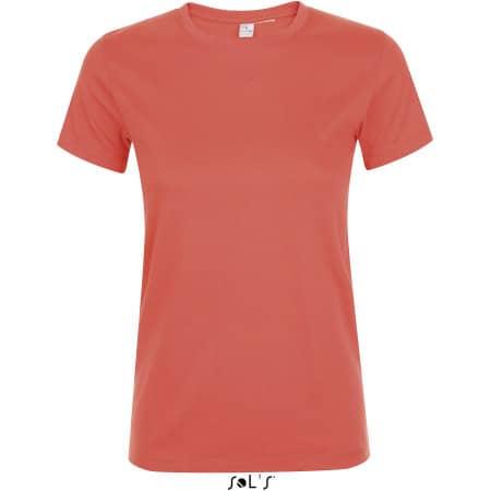 Regent Women T-Shirt in Coral von SOL´S (Artnum: L01825