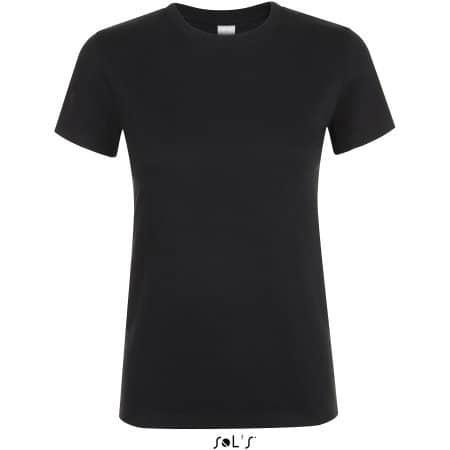 Regent Women T-Shirt in Deep Black von SOL´S (Artnum: L01825