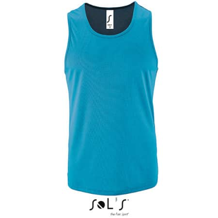 Men`s Sports Tank Top Sporty von SOL´S (Artnum: L02073