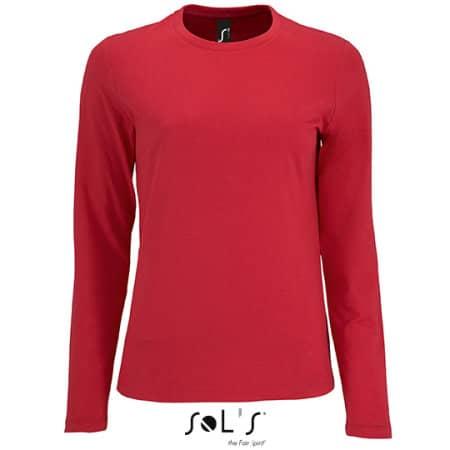 Women`s Long-Sleeve T-Shirt Imperial von SOL´S (Artnum: L02075