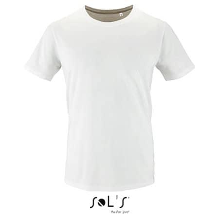 Men`s Short Sleeve T-Shirt Milo in White von SOL´S (Artnum: L02076