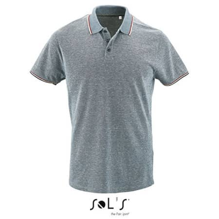 Men`s Heather Polo Shirt Paname von SOL´S (Artnum: L02081