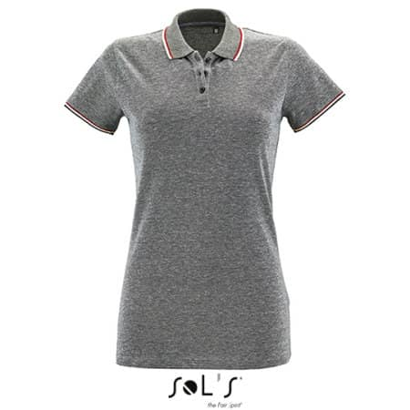 Women`s Heather Polo Shirt Paname von SOL´S (Artnum: L02082