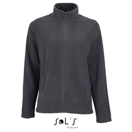 Women`s Plain Fleece Jacket Norman von SOL´S (Artnum: L02094