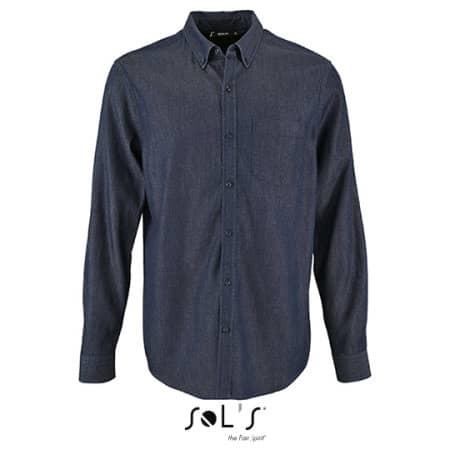 Men`s Denim Shirt Barry von SOL´S (Artnum: L02100