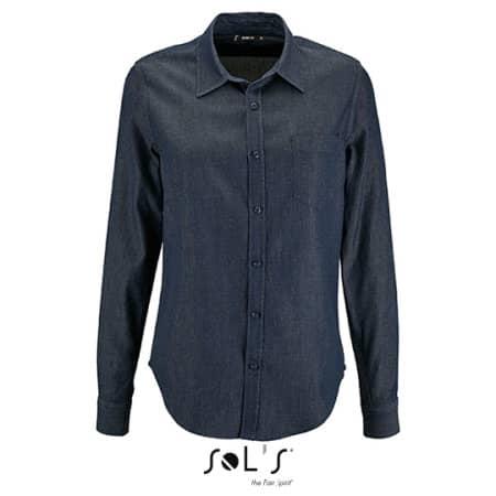 Women`s Denim Shirt Barry von SOL´S (Artnum: L02101