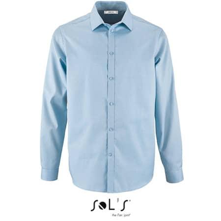 Men`s Herringbone Shirt Brody von SOL´S (Artnum: L02102