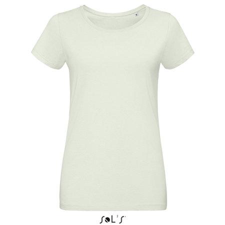 Martin Women T-Shirt in Creamy Green von SOL´S (Artnum: L02856