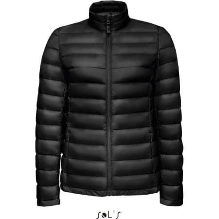 Wilson Women Jacket in Black von SOL´S (Artnum: L02899