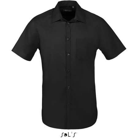 Men Bristol Fit Shirt in Black von SOL´S (Artnum: L02923