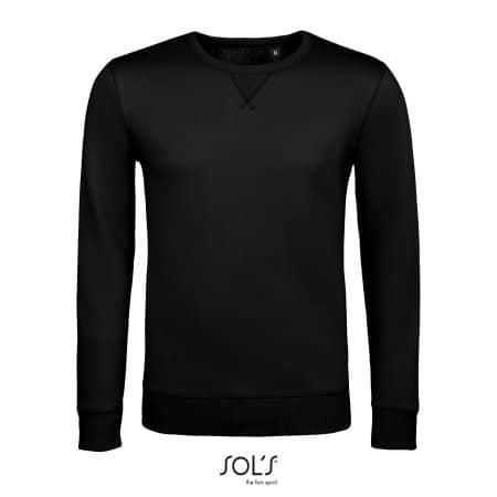Unisex Sully Sweat in Black von SOL´S (Artnum: L02990
