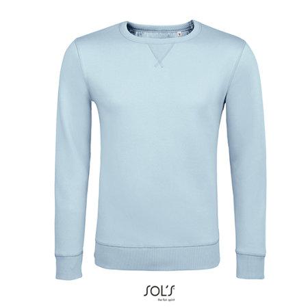 Unisex Sully Sweat in Creamy Blue von SOL´S (Artnum: L02990
