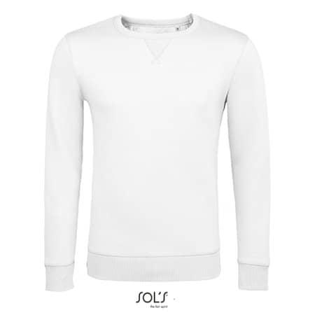 Unisex Sully Sweat in White von SOL´S (Artnum: L02990