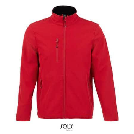 Men´s Softshell Jacket Radian in Pepper Red von SOL´S (Artnum: L03090
