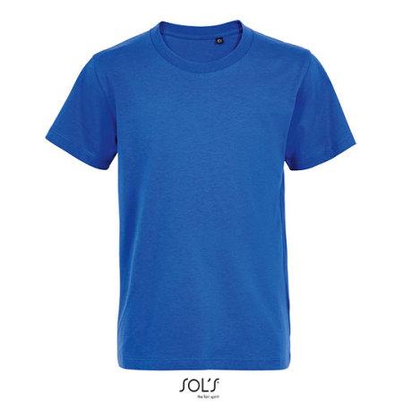 Kids´ Round Neck T-Shirt Martin in Royal Blue von SOL´S (Artnum: L03102