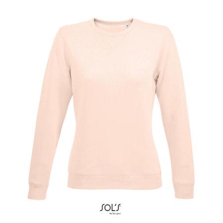 Women´s Round Neck Sweatshirt Sully in Creamy Pink von SOL´S (Artnum: L03104