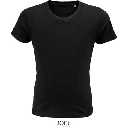 Pioneer Kids T-Shirt in Deep Black von SOL´S (Artnum: L03578
