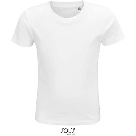 Crusader Kids T-Shirt in White von SOL´S (Artnum: L03580