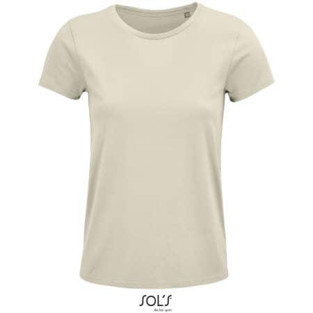 Crusader Women T-Shirt in Natural von SOL´S (Artnum: L03581