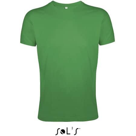 Regent Fit T-Shirt in Kelly Green von SOL´S (Artnum: L149