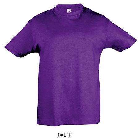 Kids` Regent 150 in Dark Purple von SOL´S (Artnum: L150K