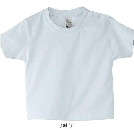 Baby T-Shirt Mosquito in Baby Blue von SOL´S (Artnum: L155