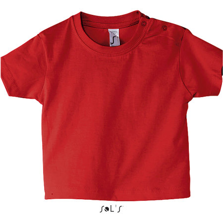 Baby T-Shirt Mosquito in Red von SOL´S (Artnum: L155