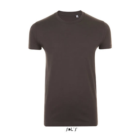 Imperial Fit T-Shirt in Dark Grey (Solid) von SOL´S (Artnum: L189