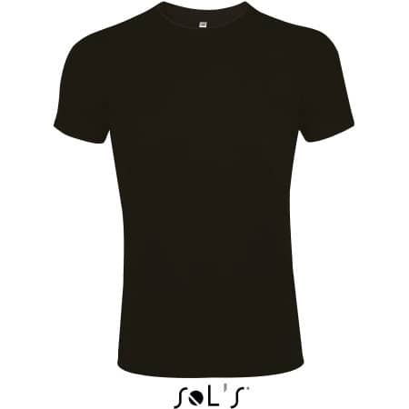 Imperial Fit T-Shirt in Deep Black von SOL´S (Artnum: L189