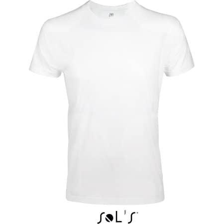 Imperial Fit T-Shirt in White von SOL´S (Artnum: L189