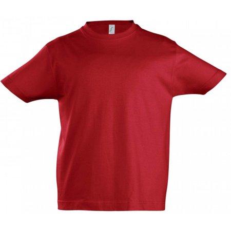 Kids` Imperial T-Shirt in Red von SOL´S (Artnum: L190K