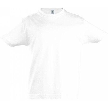 Kids` Imperial T-Shirt in White von SOL´S (Artnum: L190K