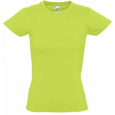 Imperial Women T-Shirt in Apple Green von SOL´S (Artnum: L191