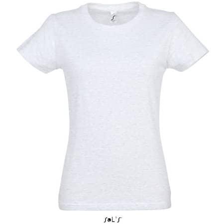 Imperial Women T-Shirt in Ash (Heather) von SOL´S (Artnum: L191