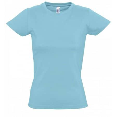 Imperial Women T-Shirt in Atoll Blue von SOL´S (Artnum: L191
