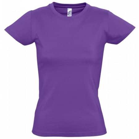 Imperial Women T-Shirt in Dark Purple von SOL´S (Artnum: L191