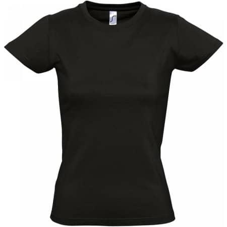 Imperial Women T-Shirt in Deep Black von SOL´S (Artnum: L191