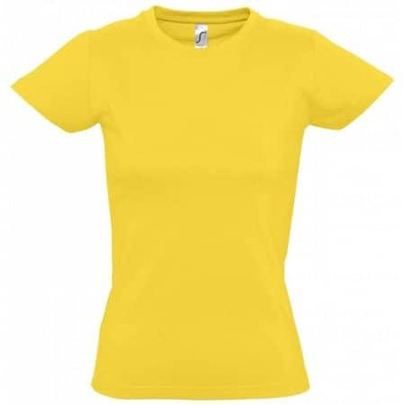 Imperial Women T-Shirt in Gold von SOL´S (Artnum: L191