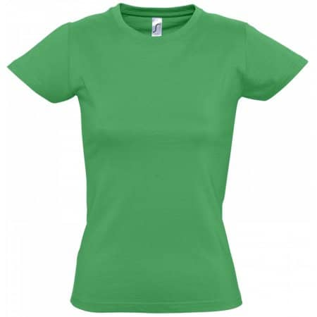 Imperial Women T-Shirt in Kelly Green von SOL´S (Artnum: L191
