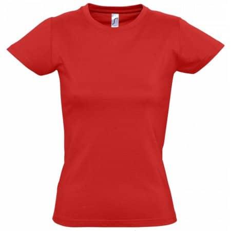 Imperial Women T-Shirt in Red von SOL´S (Artnum: L191
