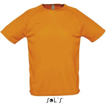 Men`s Raglan Sleeves T Sporty von SOL´S (Artnum: L198