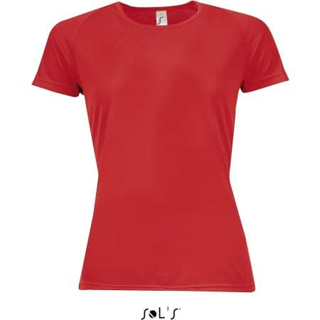 Women`s Raglan Sleeves T Sporty von SOL´S (Artnum: L200