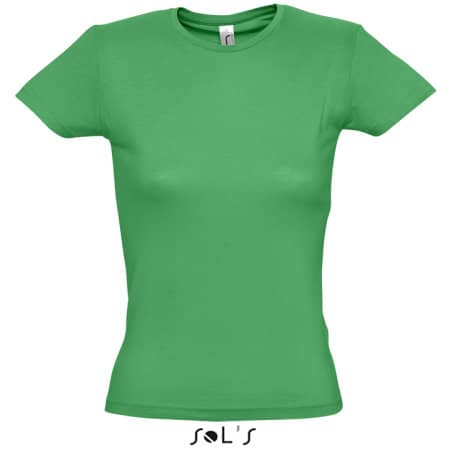 Ladies` T-Shirt Miss in Kelly Green von SOL´S (Artnum: L225