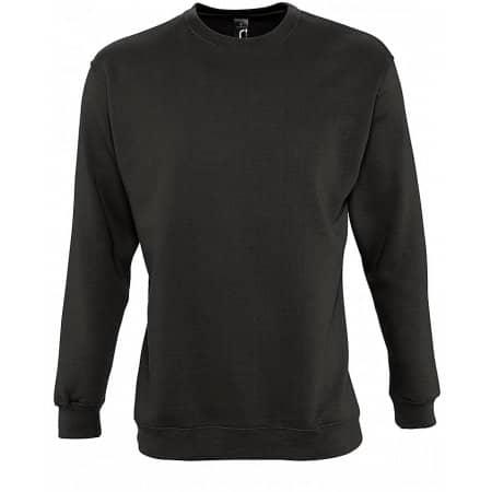 Sweatshirt New Supreme in Deep Charcoal Grey (Solid) von SOL´S (Artnum: L311