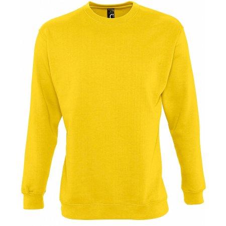 Sweatshirt New Supreme in Gold von SOL´S (Artnum: L311