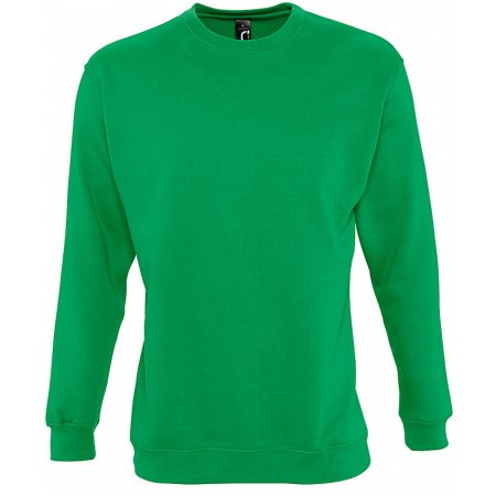 Sweatshirt New Supreme in Kelly Green von SOL´S (Artnum: L311